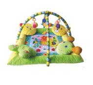 Lorelli Toys covor de joacă - margine cu 4 perne