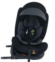 Scaun auto de siguranță cu ISOFIX, rotativ în 360° Mama Kiddies Rolling Safari (0-36 kg) cu model Lion + cadouri