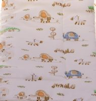 Pătură din bumbac, căptușită  80x90