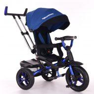 Tricicletă Mama Kiddies Riker Bluey Full Extra  (scaun rotativ 360)