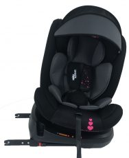Scaun auto de siguranță cu ISOFIX, rotativ în 360° Mama Kiddies Rolling Safari (0-36 kg) cu model Princess + cadouri