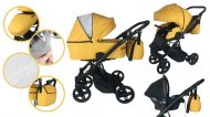 Mama Kiddies Bee cărucior multifuncțional 3în1 + cadou