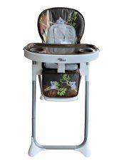 Mama Kiddies ProComfort NewLine scaun multifuncțional pentru hrănire, maro cu model de koala  + Cadou