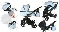 Mama Kiddies Whale cărucior multifuncțional 3în1 + cadou