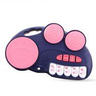 Tobă și pian de jucărie 2în1