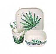 Set veselă Evergreen Bamboo