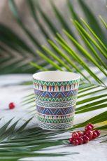 Ceașcă bambus Ethnic Festive