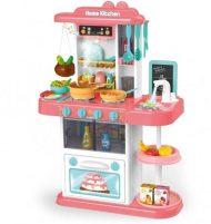 Mama Kiddies KitchenStar Set bucătărie copii 43 piese, culoare roz
