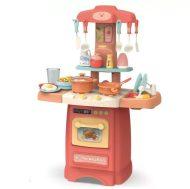 Mama Kiddies Effluent Kitchen Set bucătărie copii 29 piese, culoare roz