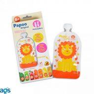 Pungi Papoo pentru mâncare bebeluși Leu (6 buc)