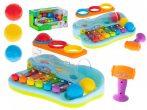 Pian de jucărie colorat și interactiv