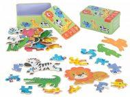 Puzzle de dezvoltare safari 25 buc