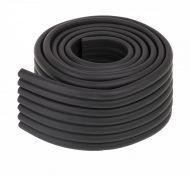 Bandă protecție pentru muchii  8x0,5x200 cm negru