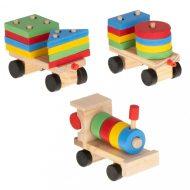 Trenuleț de lemn de dezvoltare  30 cm
