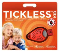 Tickless Dispozitiv ultrasonic anti căpușe KID portocaliu
