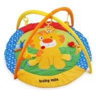 Baby Mix covor de joacă rotund cu leu