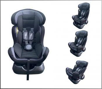 Scaun auto Mama Kiddies Safety Star (0-25 kg) argintiu-negru