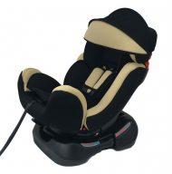 Scaun auto Mama Kiddies Safety Plus (0-25 kg) bej cu copertină cadou