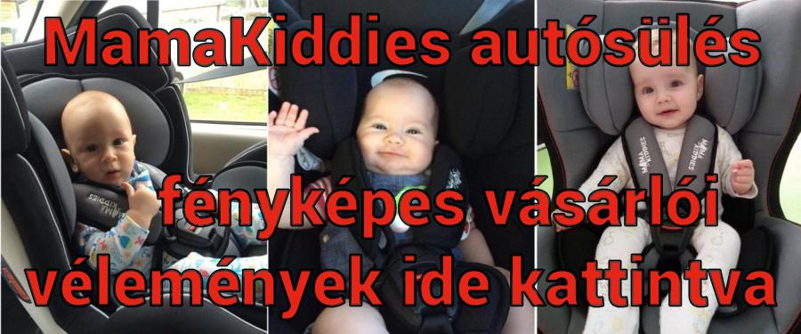 Mama Kiddies autósülés fényképes vásárlói vélemények